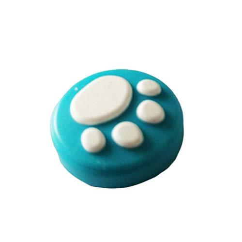 NOBRAND QingDaoFuLongGuanHuangMuYeGongSi Lot de 2 joysticks en silicone pour Nintendo Switch Joy-Con (Bleu)