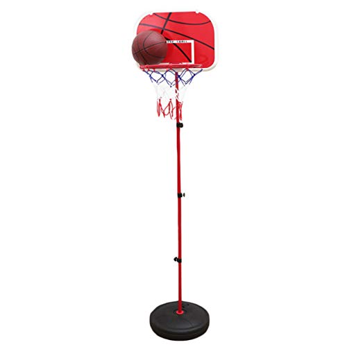 BESPORTBLE Pool Side Basketball Mini liftable Poolside Basketball Hoop System Stand Goal for Kids Youth 1 Pc 24-59 inches