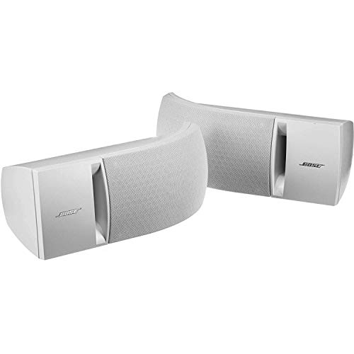 Bose 161 - Altavoces estéreo (2 unidades), color blanco