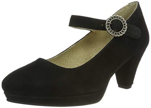 Stockerpoint Damen Schuh 6006 Riemchenpumps, Schwarz (Schwarz), 39 EU