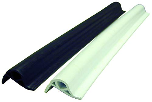 RITE-HITE K & R Manufacturing Boat Dock Accessories - KR5001 HD Vinyl Boat Dock Bumper; Comes in Black or White; 10' Section (White)