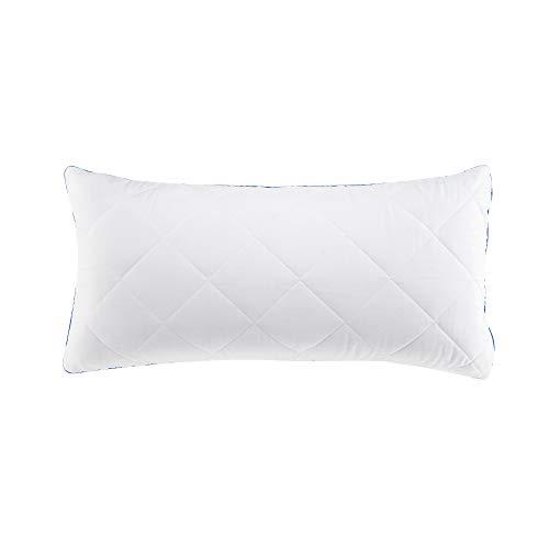 Schlafwohl Basic Taschenfederkern Kopfkissen • mit abnehmbarem Kissenbezug • 1er Set • Größe: 40 x 80 cm
