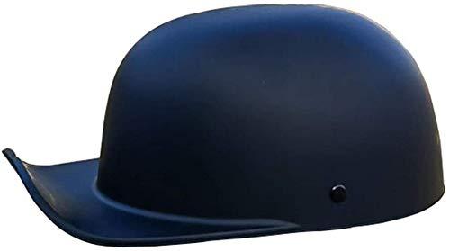 Vintage Open Face Helm Retro Motorrad Half Shell Helm Männer Und Frauen DOT Approved Baseball Cap Style Helm Fahrrad Cruiser Chopper Moped Scooter ATV Helme (54-62Cm) 1,L