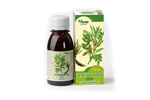 Sirup Süßholzwurzel mit Vitamin C 100ml Солодки корня сироп