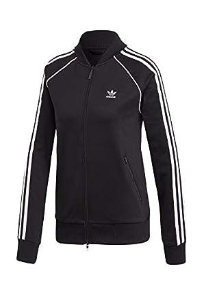 adidas SS TT Sweatshirt, Mujer, Black/White, 40