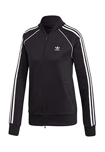 adidas SS TT Sweatshirt, Mujer, Black/White, 38