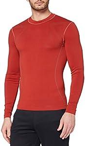 Luanvi Sahara Camiseta térmica, Hombre, Rojo, M
