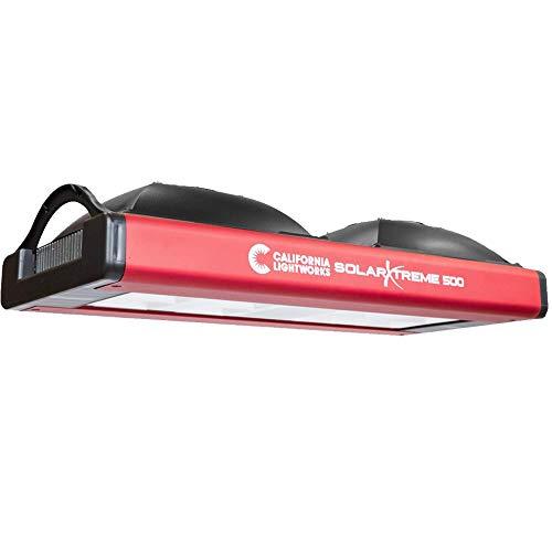 California Light Works SolarXtreme 500 LED Grow Light Fixture - Full Spectrum 400w Watt COB Lighting System - 120V Volt - Lightworks