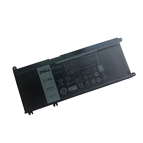 DELL 33YDH Notebook Battery 15.2V 56Wh for DELL Latitude 3380 3480 3580 3590 DELL Inspiron 7577 7586 7773 7778 7779 DELL G3 15 3579 G3 17 3779 G5 15 5587 G7 15 7588 Best OEM Quality
