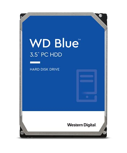 "WD WD40EZRZ Blu Hard Disk Desktop da 4 TB, 5400 RPM, SATA 6 GB/s, 64 MB Cache, 3.5 """