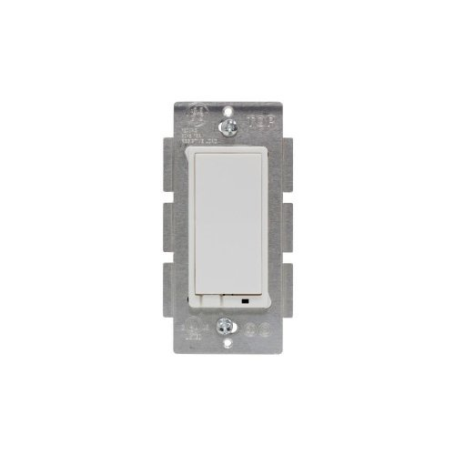 GE White On/Off Light Switch with Iris Technology Z-Wave