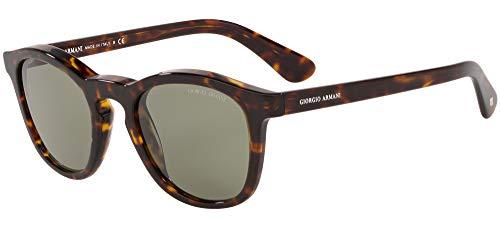 GIORGIO ARMANI Occhiali da sole AR8112 5026/2 occhiali Uomo colore Havana lente verde taglia 50 mm