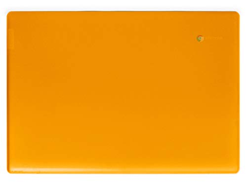 mCover Hard Shell Case for Late-2019 14' Lenovo S340 Series Chromebook Laptop (NOT Fitting Older 14' Lenovo N42 / S330 and 11.6' N22 / N23 / 100E / 300E / 500E, etc) (Orange)