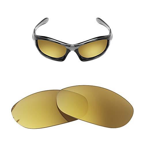 FOOUS - Lentes polarizadas de repuesto para gafas de sol Oakley Monster Dog, color violeta, varias opciones