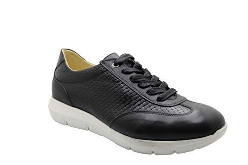 Vikatos Runner Collection 2021 Art .Nico - Zapatillas de piel elegantes, color Negro, talla 40 EU