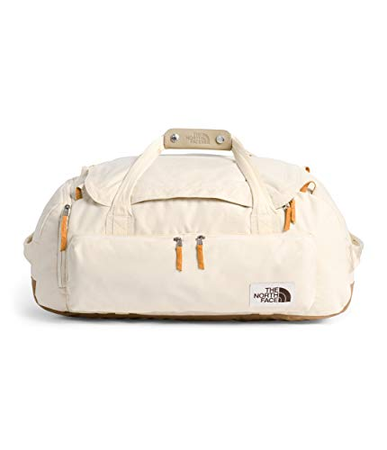 The North Face Berkeley Duffel—M, Bleached Sand Dark Heather/Utility Brown, OS
