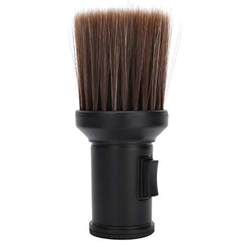 Hair Sweep Hair Cleaning, Brosse de nettoyage, Neck Duster Beard Shaving Brush Hair Cutting Beard Shaving(black)
