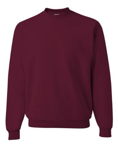 JERZEES - Crewneck Sweatshirt. 562M, XL, Maroon