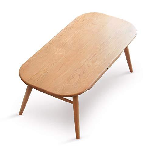Z-GJM puur massief hout salontafel kersenhout woonkamer salontafel moderne minimalistische kleine appartement salontafel het kan niet alleen brengen gemak om uw leven, maar ook decoreren en reclame A