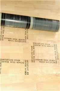 Auto Carpet Adhesive Protective Film 24' x200' 4 mil