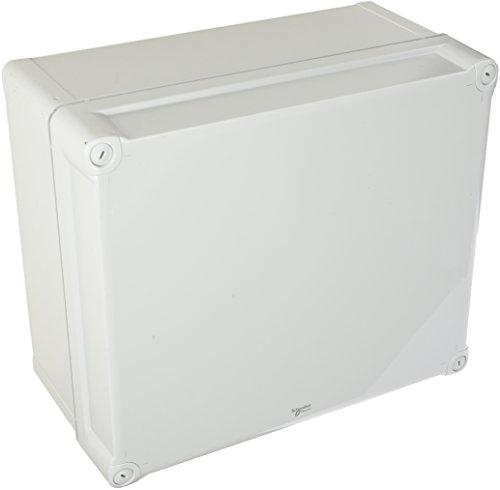 Schneider Electric NSYTBP342916H PC Caja opaque PC Cubrir H60, IP66 IK08, Int.H325W275D160, Ext.H341W291D168, 341mm x 291mm x 128mm, Gris