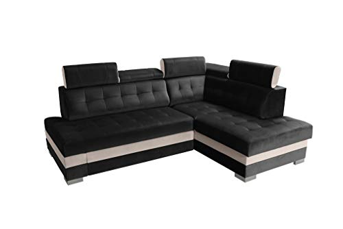 *Robin Paris – Ecksofa mit Bettkasten*