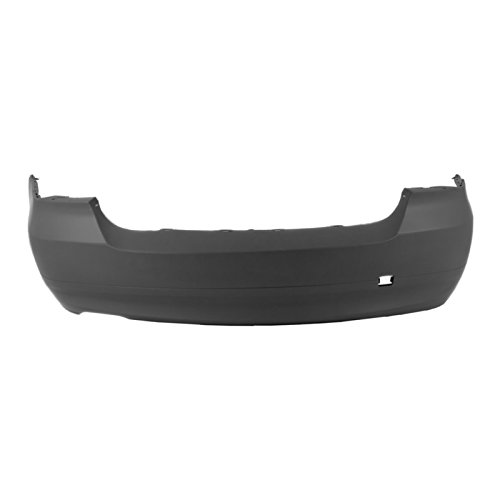 MBI AUTO - Painted to Match, Rear Bumper Cover for 2006-2008 BMW 323 325 328 330 Sedan 3 Series 06-08, BM1100164