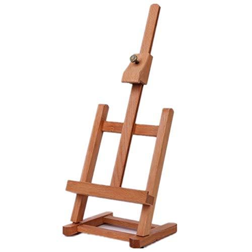 Timetided Caballete multifuncional Caja de madera integrada Dibujo art¨ªstico Caja de mesa de pintura Maleta de pintura al ¨leo Caja de escritorio Suministros de arte