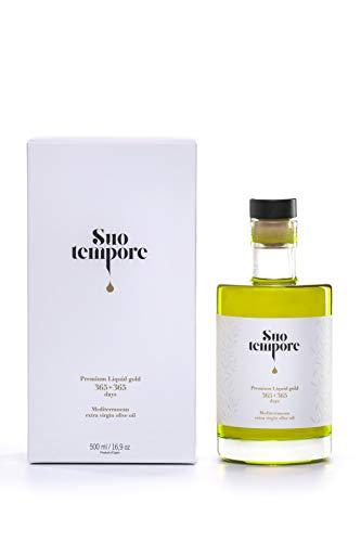 Suo Tempore by oli Soleil Aceite de Oliva Virgen Extra de máxima Calidad en Estuche Premium 500 ml de Nueva Cosecha 2020-21 - Elaborado por Presión en Frío