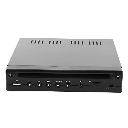 Lettore DVD per auto-12V Lettore DVD Half-Din HD HIDM Porta USB TF Slot SD Telecomando IR Multimedia per Bus Camper Auto