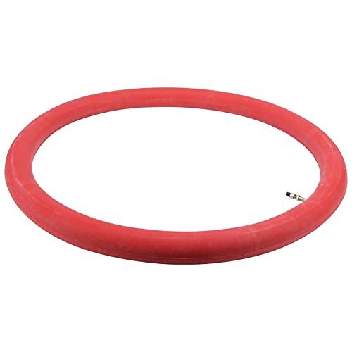 CUTULAMO Carretilla de Mano 26x2‑1/2 Tubo Interior de neumático Rojo, Caucho butílico Tubo Interior de Carretilla Rendimiento Estable Amortiguador para reemplazar el Tubo Interior de neumático