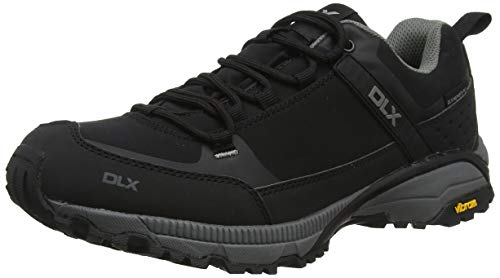 Magellan Mens DLX Walking Trainers Black 44