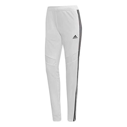 adidas Pantalón de Entrenamiento Tiro19 para Mujer, Mujer, Pantalones, S1906GHTAN103W, Blanco/Negro, XL