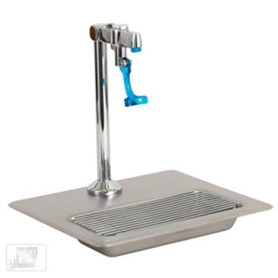 Glass Filling Station/Water Station with Glass filler and Drain Tray