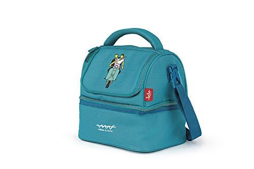 Jata Hogar HPOR7025 Bolsa térmica Termosellada JATA, RPET Plástico Reciclado, Azul, Pequeño