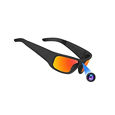 OhO sunshine Video Sunglasses, Super Slim 1080P HD Outdoor Sports Action Camera with Built-in Memory and Polarized UV400 Protection Safety Lenses,Unisex Sport Design from OhO sunshine