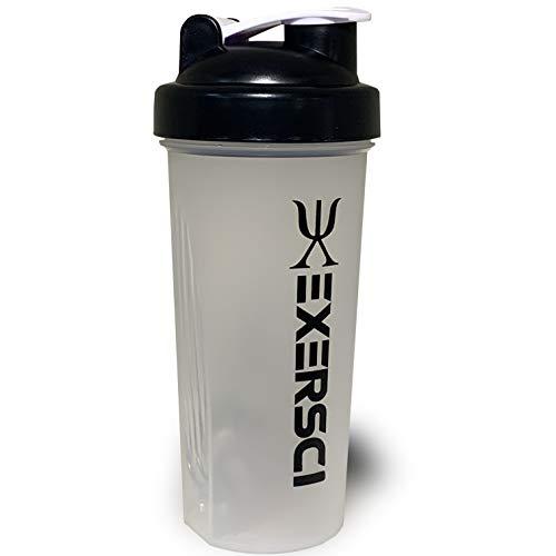 Exersci protein shaker, drinks bottle 600ml with blending ball