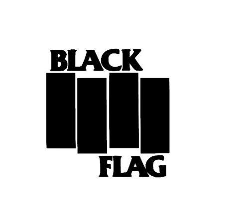Coches y Motos Etiqueta engomada de la decoración del Coche de la Ventana Pegatinas de Coche de la Bandera Negra (14x15cm) (Color : 1)