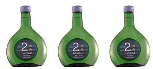 Bacchus 2018 halbtrocken (3x 0,25l Bocksbeutel mini) 6,90 €/3x 0,25 l (9,20€/l)