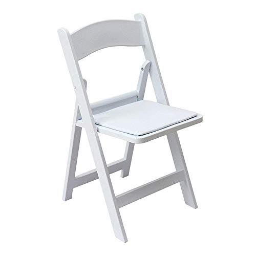 LHQ-HQ Silla de silla de la boda al aire libre plegable silla de playa plegable elegante minimalista Silla plegable casa muy conveniente for la oficina escuela del dormitorio por un Gabinete Comedor (