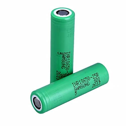 Baterías Recargables Flat Top 18650, para 25R 2500mAh Batería De Fuente De Alimentación Inr18650-25r,...
