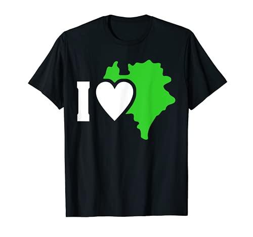 Vogtländer Sachsen Geschenk Love Vogtlandkreis Fun T-Shirt
