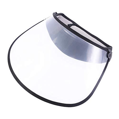 MILISTEN Écran Facial Transparent Protecteur Anti Salive Protecteur Facial Anti-Crachats Anti Éclaboussures D'huile Couvercle Facial Sécurité Protecteur Visière Couvrant Capuchon