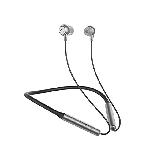 DKE&HXL Auriculares Bluetooth, Bluetooth 5.0, estéreo intrauditivo, impermeable y a prueba de sudor, larga duración de la batería.