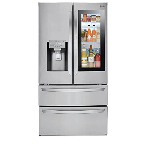 LG LMXS28596S 28 Cu. Ft. Smart Wi-Fi Enabled InstaView Door-in-Door Refrigerator