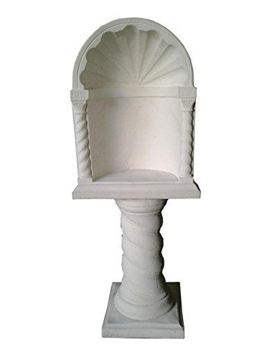 NICCHIA PER MADONNINA CM47X33X120H COMPLETA BIANCA