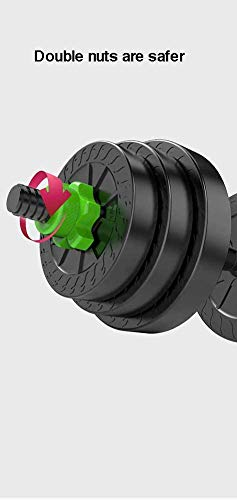 Top Power Lube 20Kg Dumbbells Set of Gym Weights Barbell/Dumbbell Body Building 20KG SET