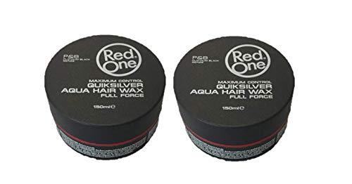 RedOne Aqua Hair Gel Wax Grey 150ml 2 Stück