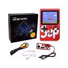 sup GameBox 400 en una Consola de Juegos portátil (Rojo)