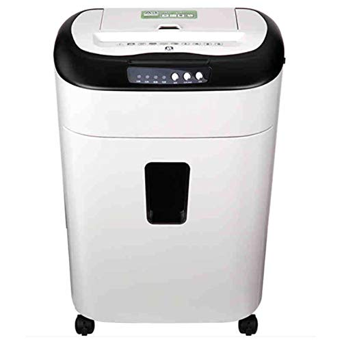 Best Review Of L.HPT 80-Sheet Shredder Electric Office High Power Pulverizer Automatic Paper Feed 3 ...
